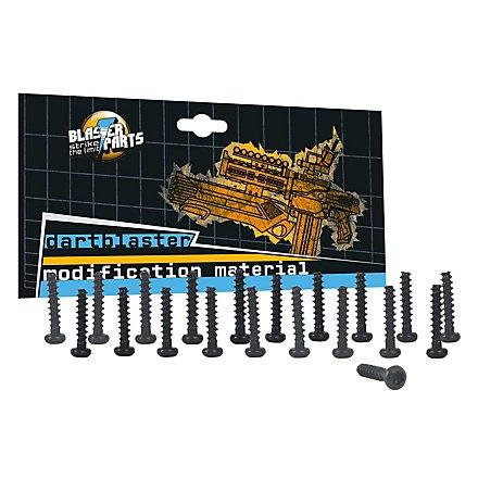 Ersatzschrauben passend für Nerf Blaster 12mm 20 Stück - Torx T8