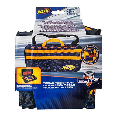 NERF - Elite Mobile Mission P.A.K. Transport-Tasche für Blaster