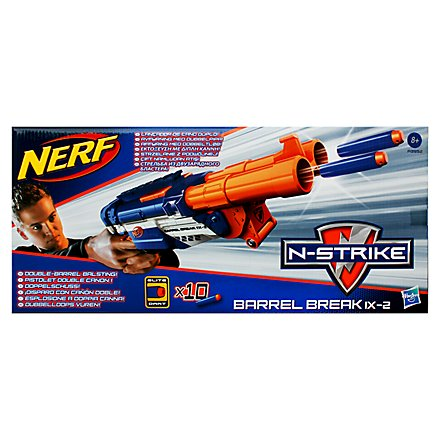 NERF - N-Strike Barrel Break IX-2 (blau)