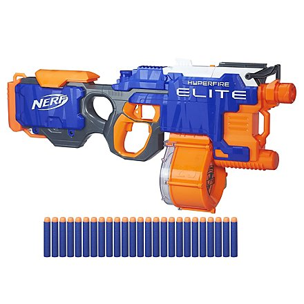 NERF - N-Strike Elite Hyperfire in Recycling-Verpackung