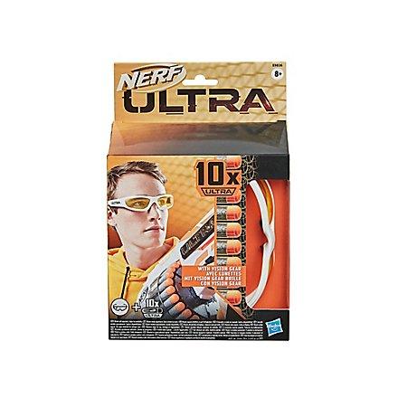 NERF - Ultra Vision Gear Brille und 10 Nerf Ultra Darts
