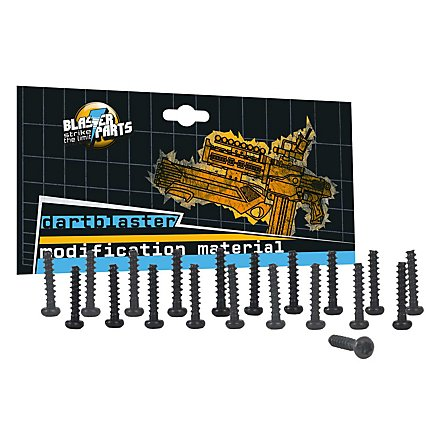 Replacement Screws suitable for Nerf Blasters 12mm 20 pieces - Torx T8