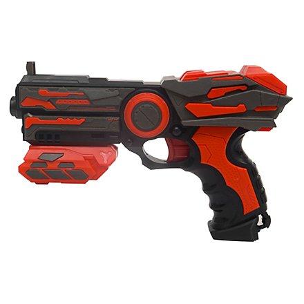 Serve & Protect Shooter Basic 23cm mit 6 Darts