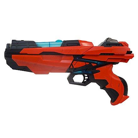 Serve & Protect - Shooter Medium 29cm mit Licht und 6 Darts