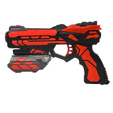 Serve & Protect Shooter Starter 18cm mit 6 Darts