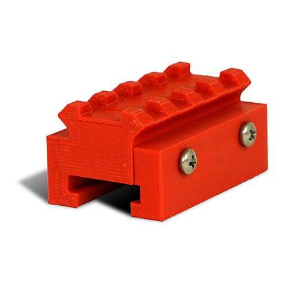 Slydev - Nerf zu Picatinny-Rail Adapter v2 - 4,5 cm