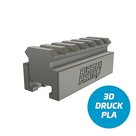 Slydev - Rail Adapter Nerf zu Picatinny FR - 6,5 cm