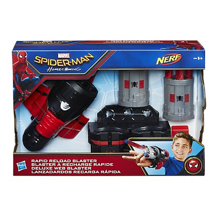 Spider-Man - Rapid Reload Nerf Blaster