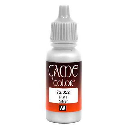 Vallejo Metallic Color 052 Silver 17ml