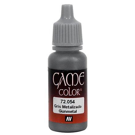 Vallejo Metallic Color 054 Gunmetal 17ml