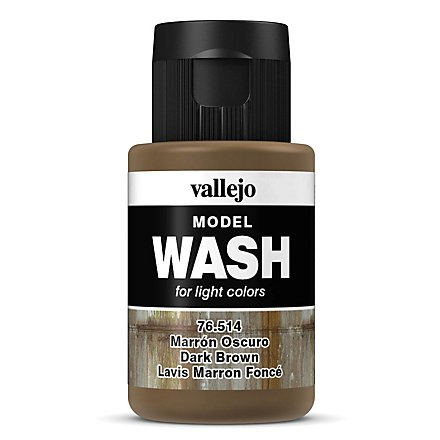 Vallejo - Model Wash Dark Brown 35ml