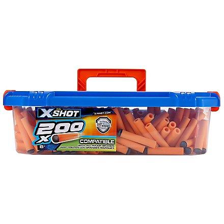 X-Shot - Excel Ultimate Value 200 Darts Nachfüllpack mit Aufbewahrungbox