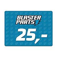 Blasterparts Geschenkgutschein 25,- €