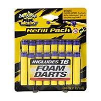 BuzzBee - Air Warriors 16 Schaumstoff-Darts mit Saugnapf