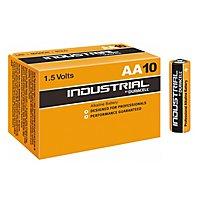 Duracell Industrial - Heavy Duty AA-Batterien für extra lange Haltbarkeit, 10er Box