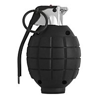 Hand Grenade - black - toy with sound effect