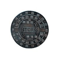 Manhole Cover Shield - Dark Moon