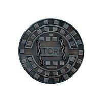 Manhole Cover Shield - Dark Moon