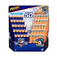NERF - N-Strike Elite & AccuStrike 50 Dart Refillpack (25 Elite /25 AccuStrike)