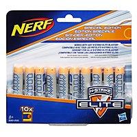 NERF - N-Strike Elite Deko 10er Dart Nachfüllpack Grau