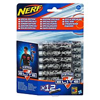 NERF - N-Strike Elite Grey Camouflage Special Edition Clip System Darts 12 Pk