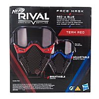 NERF - Rival Face Mask Red