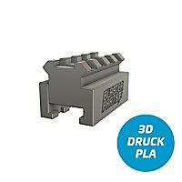 Slydev - Nerf to Picatinny-Rail Adapter V2 - 4,5 cm (black)