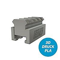 Blasterparts - Nerf zu Picatinny-Rail Adapter v1 - 4,5 cm