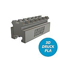Blasterparts - Rail Adapter Nerf zu Picatinny V2 - 6,5 cm