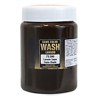Vallejo - Game Dipping Formula Wash Sepia Shade, 200ml