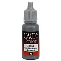 Vallejo - Metallic Color 054 Gunmetal 17ml