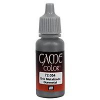 Vallejo - Metallic Color 054 Gunmetal 17ml