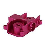 Worker - Angewinkelter Flywheelcage aus Aluminium passend für Nerf Styfe und Rapidstrike und Worker Swordfish und Dominator (Pink)