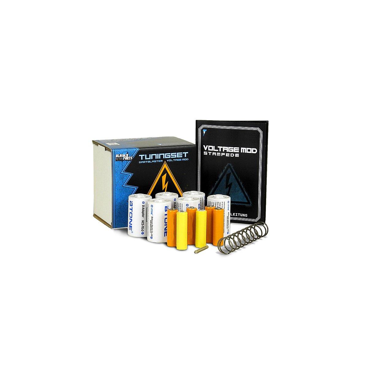 Blasterparts Voltage Set F 252 R Nerf Stampede Ecs 60
