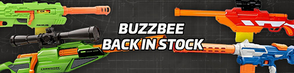 BuzzBee back in Stock