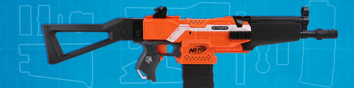 Blasterparts mod Spring for Nerf N-Strike Accustrike alphahawk