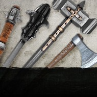 All maces, warhammers & axes