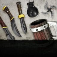 Filtert dir alle Wurfgeschosse, Wurfmesser & kernlose Waffen