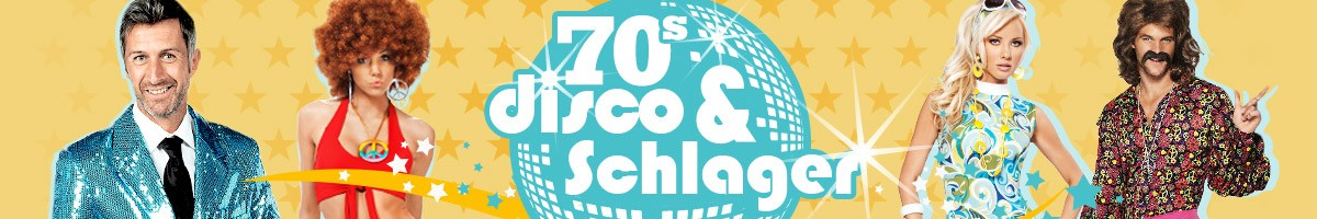70er Jahre, Flower Power, Hippie, Disco & Schlager Mottoparty