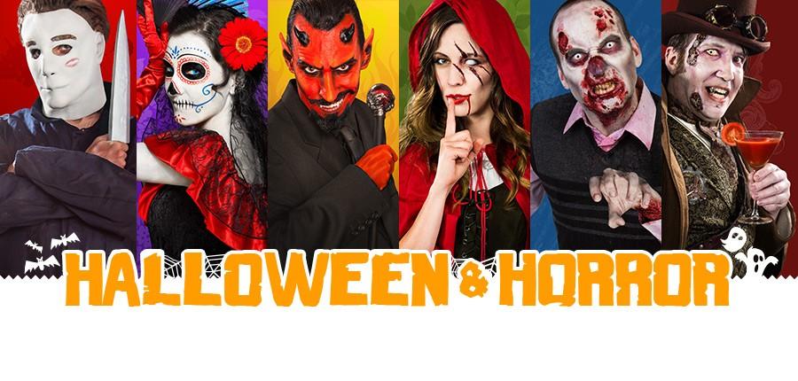 Halloweenkostüme, Halloweenmasken, Halloweenperücken und vieles mehr