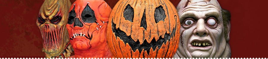Horror. Monster, Slipknot & Halloween Masks