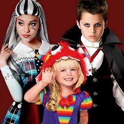 Halloween-Kinderkostüme