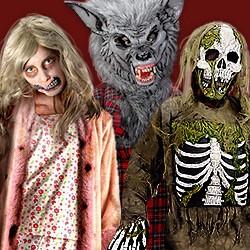 Horror- & Zombie-Kostüme für Kinder