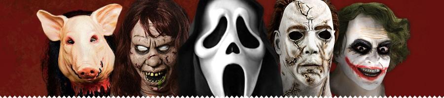 horrorfilm masken halloween masken aus horrorfilmen. Black Bedroom Furniture Sets. Home Design Ideas