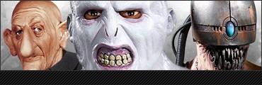 Masken aus Latex, Schaumlatex, Vinyl & PVC sowie Lizenzmasken, Latexmasken, Schaumlatexmasken, Vinylmasken