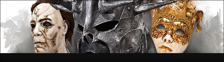 Masken für Fasching, Karneval, Halloween, LARP, Fasnacht, Fasnet, Faschingsmasken, Karnevalsmasken, Halloweenmasken