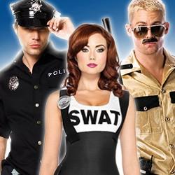 Polizeikostüm, Polizeikostüme für Damen, Polizei Kostüm für Herren