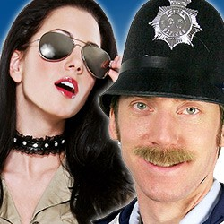 Polizei Kostüm Zubehör
