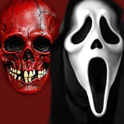 Halloween Masken, Horrorfilm Masken, Horrorclown Masken, Zombie Masken, Vampir Masken, Halloween Kindermasken, Horror latex Masken, Halloween Latex Masken