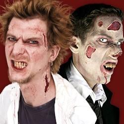 Halloween Wunden, Horror Latex Applikation, Halloween-Latexapplikation, Halloween Brandwunde, Halloween Schusswunden, walking Dead Bisswunden, Halloween Schnittwunden